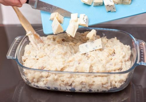 Куриные крокеты с сыром