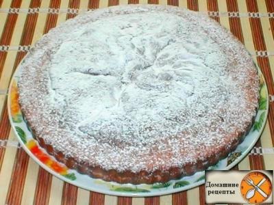 Пирог - губка  на  киселе