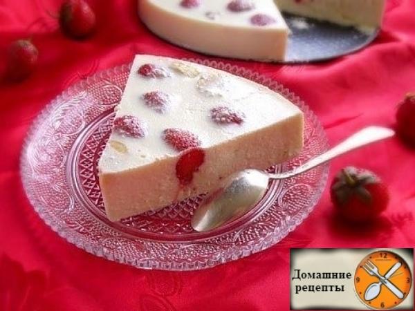 Творожно-фруктовый десерт