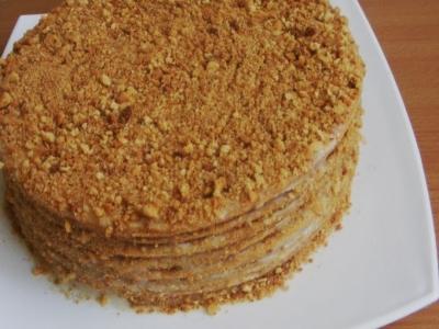 Идеальный медовый торт