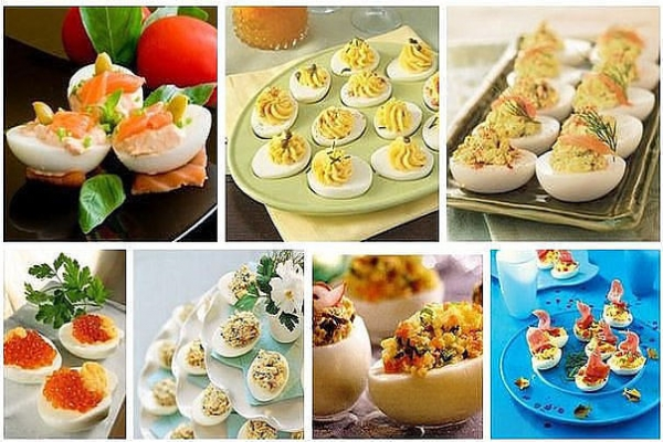 Фаршированные яйца. 26 вариантов для начинки1