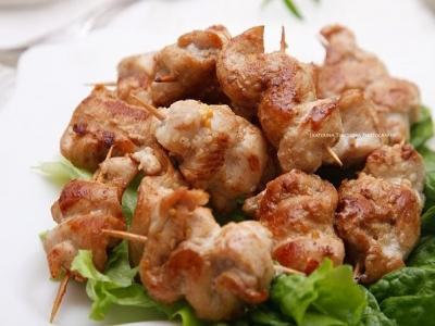 Куриные шашлычки в горчично-медовом маринаде 2