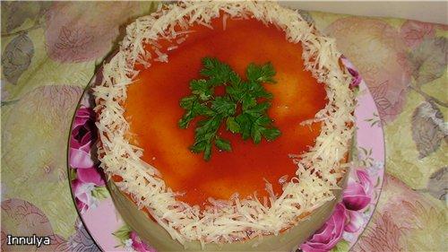 Мясной торт - вкусно и красиво 4