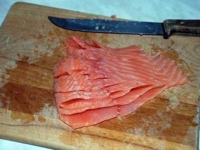 Праздничная закуска  а-ля суши