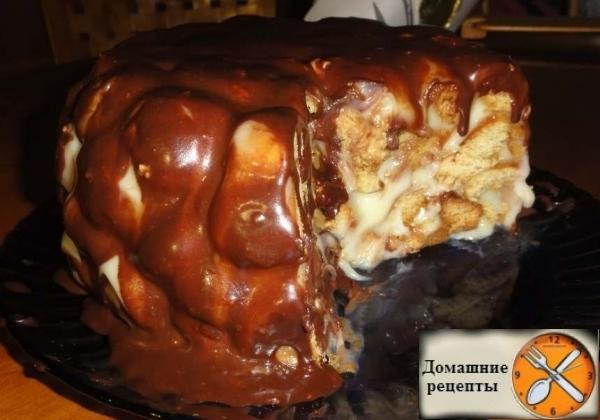 """Рецепт домашнего тортика родом из детства """"Медовые шарики"""""""