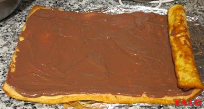 """Торт """"Шоколадное полено"""" 3"""