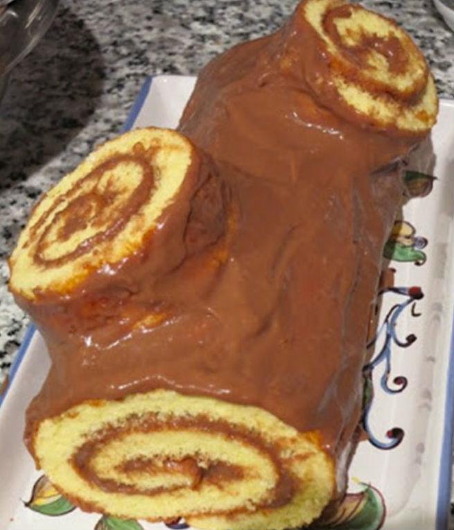 """Торт """"Шоколадное полено"""" 7"""