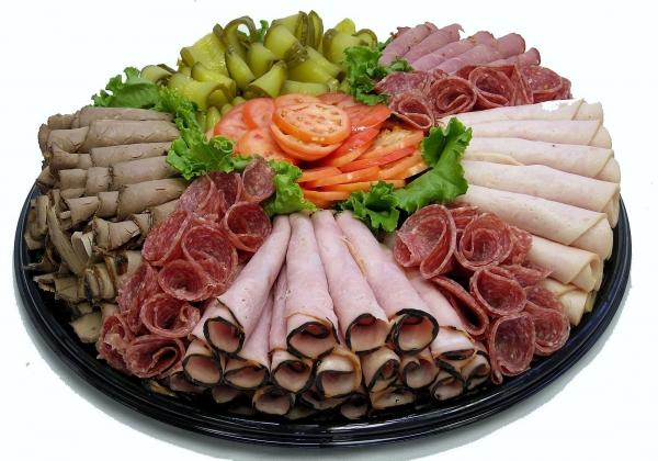 Идеи красивой мясной нарезки11