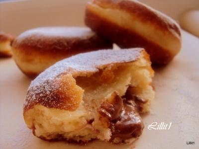 """Пончики с шоколадным кремом """"Восторг"""" 6"""