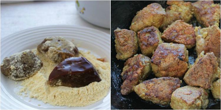 Самый вкусный рецепт жареной печени 4