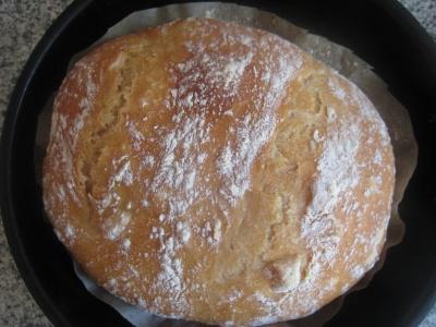 Рецепт вкусного домашнего хлеба в духовке 5