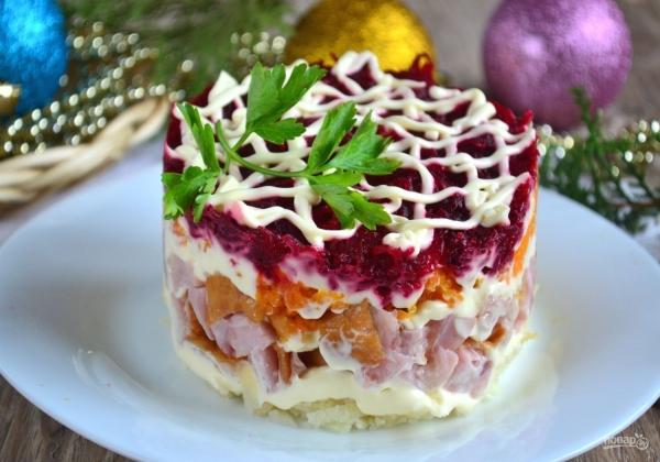 5 вкусных салатов на праздничный новогодний стол
