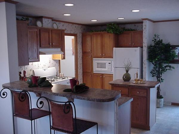 Барная стойка в интерьере кухни 3