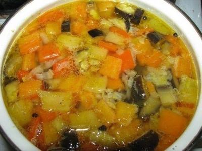 Сырные шарики. Быстрый болгарский суп. 7