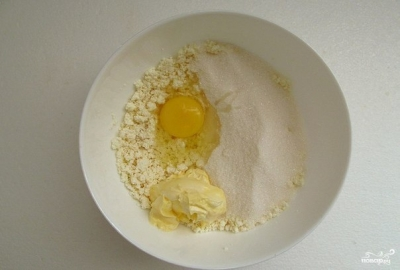 Творожно-малиновый торт 2