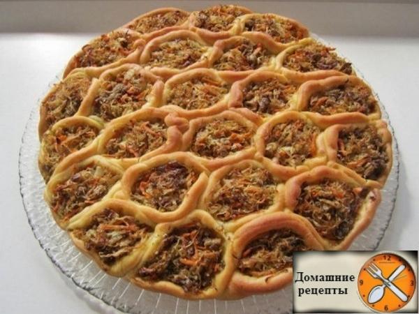 Самый оригинальный и очень вкусный пирог «Соты»