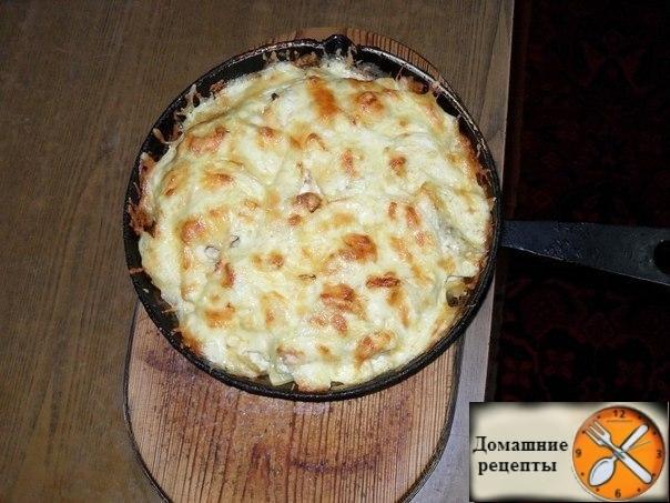 картошка по-королевски. дом рецепты