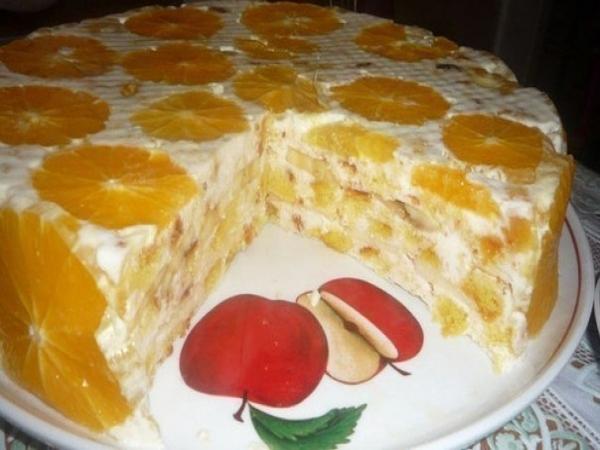 """Тортик """"Фруктовая нежность"""""""