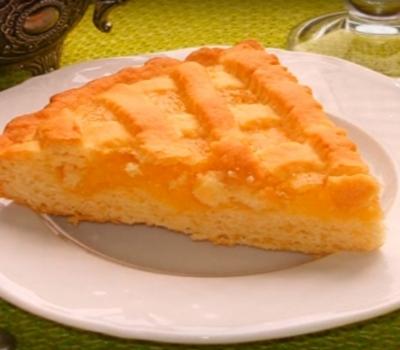 Песочный лимонный пирог. дом. рецепты (2)