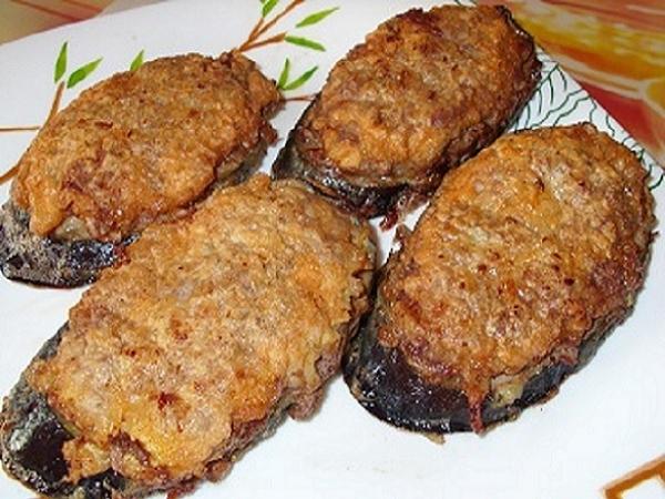 "Жареные баклажаны ""под мясом"""