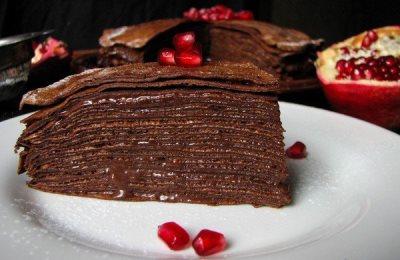 ТОП-6 Блинные торты с разными кремами 3