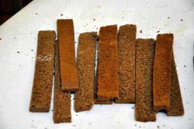 Шоколадно-цитрусовый торт с клубничным муссом 15