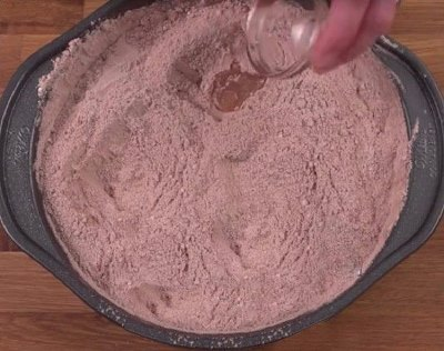 Моментальный шоколадный торт  3