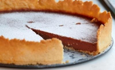 Шоколадный тарт 9